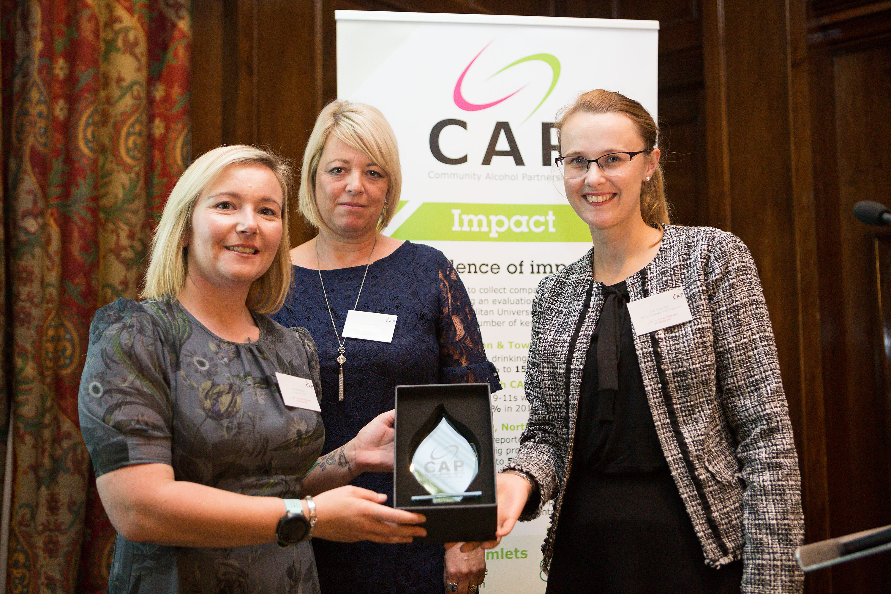 Cat Smith MP with Samantha Beetham and Lisa Richardson